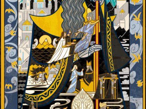 Glory and Fallen of Númenor by Breath-art