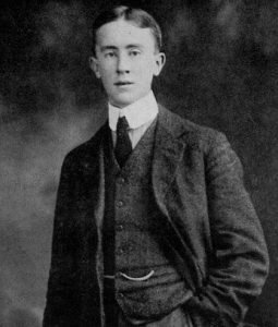 JRR Tolkien in 1911 (19 years old)
